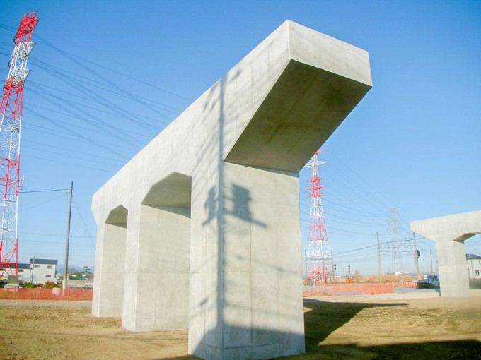 埼玉県の建設会社中里組のコンクリート構造物