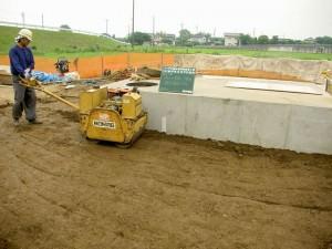 埼玉県の建設会社中里組 ハンドガイド式