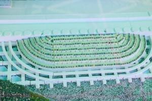 埼玉県川越市の建設会社中里組 寺山堰模型