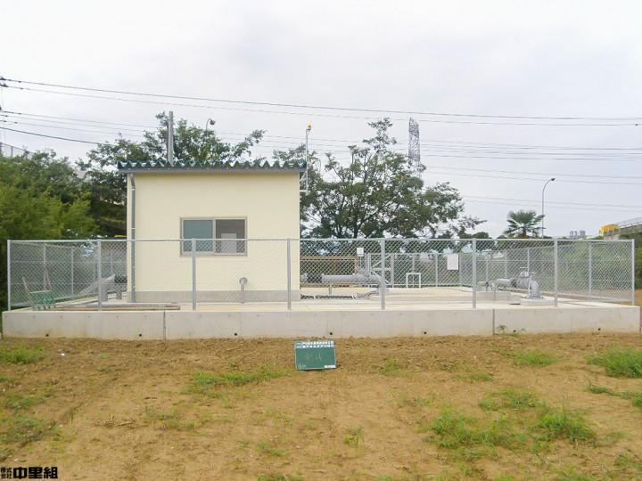 戸口揚水機場移設等工事の写真