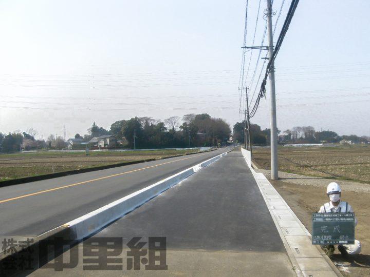 舗装指定修繕工事(八幡工区)の写真