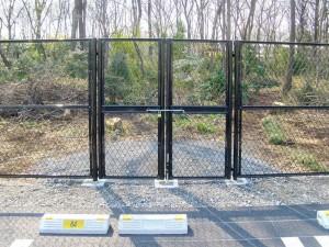 埼玉県川越市の建設会社中里組の民間工事 フェンス1