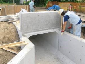 埼玉県川越市の建設会社中里組のボックスカルバート施工