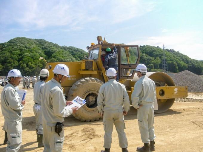 埼玉県の建設会社中里組の現場見学会2