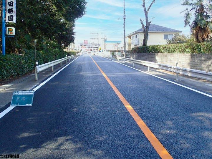 舗装指定修繕工事(中富)の写真