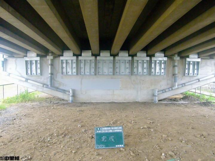 高架橋維持工事の写真