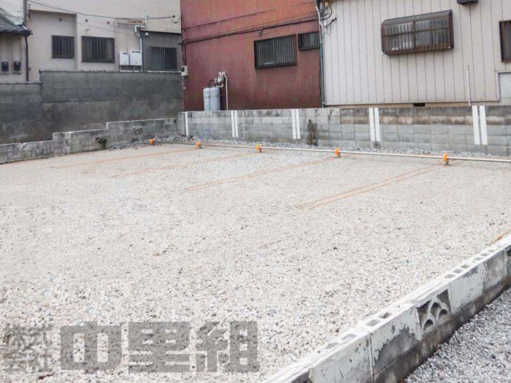 民間駐車場工事の写真