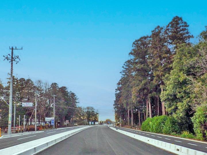 道路改築工事のメインイメージ