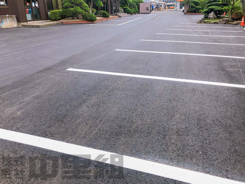 駐車場リニューアル工事を実施しましたのイメージ